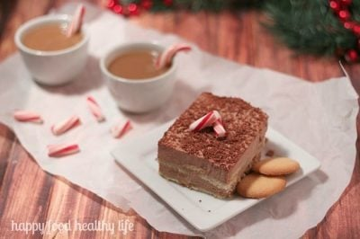 Quick & Easy Entertaining – Frozen Peppermint Mocha Tiramisu Recipe