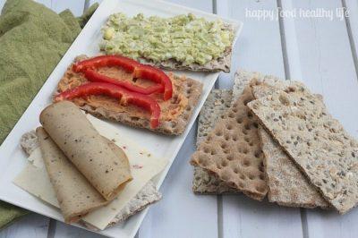 Healthy Crispbread Snack Ideas