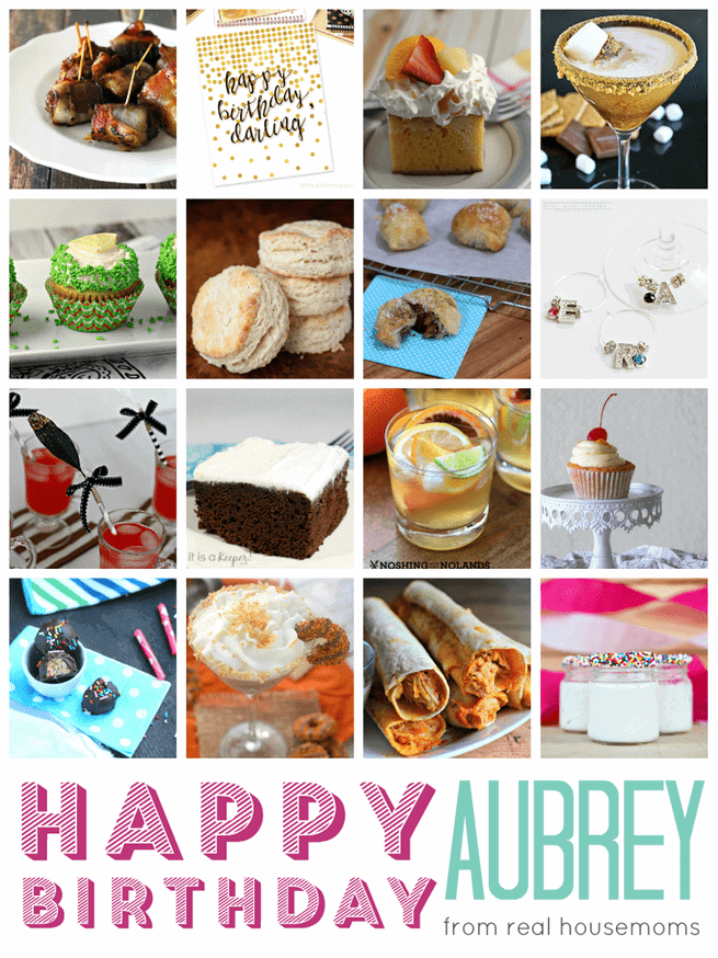 Happy Birthday Collage   www.happyfoodhealthylife.com