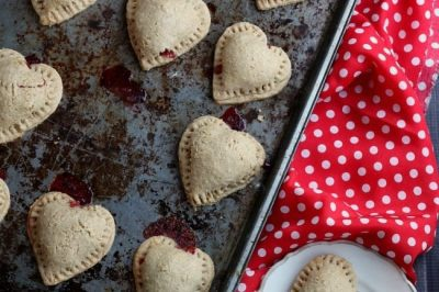 Whole Wheat Chocolate Strawberry Handpies