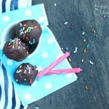 Lightened-Up Cake Batter Truffles - A delightful treat for a special occasion that's totally not that bad for you! | www.happyfoodhealthylife.com