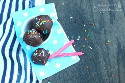 Lightened-Up Cake Batter Truffles