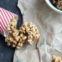 3-Ingredient Honey Almond Cereal Treats