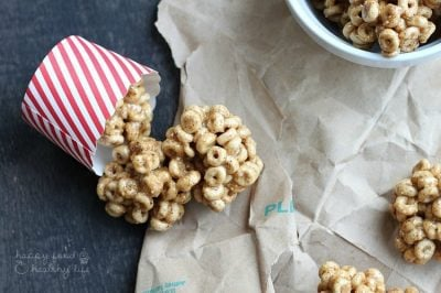 3-Ingredient Honey Almond Cereal Treats