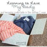 Learning to Love My Body and becoming comfortable in the clothes that I wear | www.happyfoodhealthylife.com