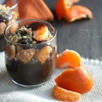 Healthy Chocolate Orange Pudding Parfaits | www.happyfoodhealthylife.com