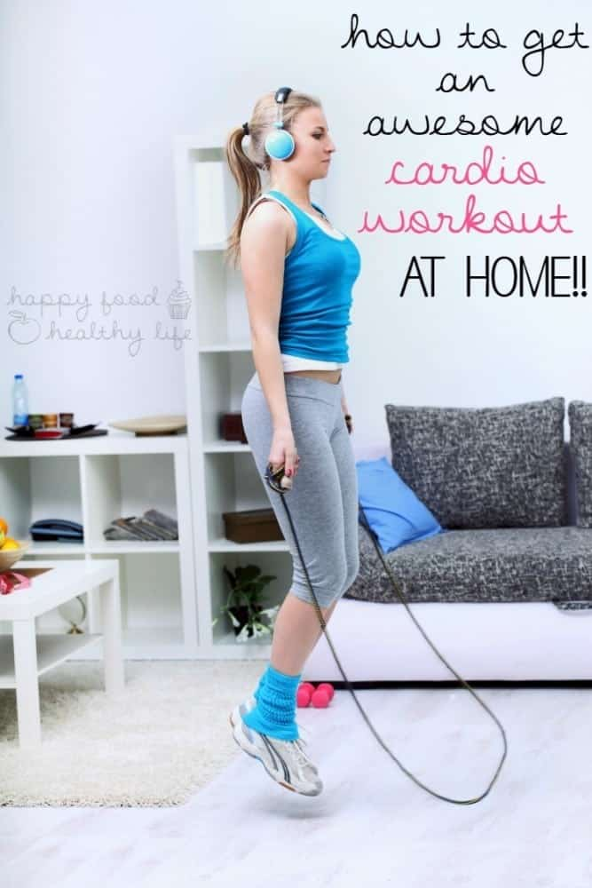 Awesome Cardio Workout At Home