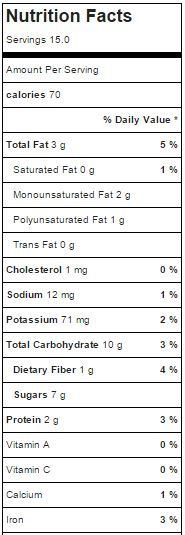 AlmondJoy Creamer Nutritional Info