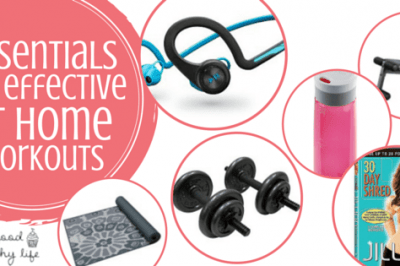 Essentials for Effective At Home Workouts