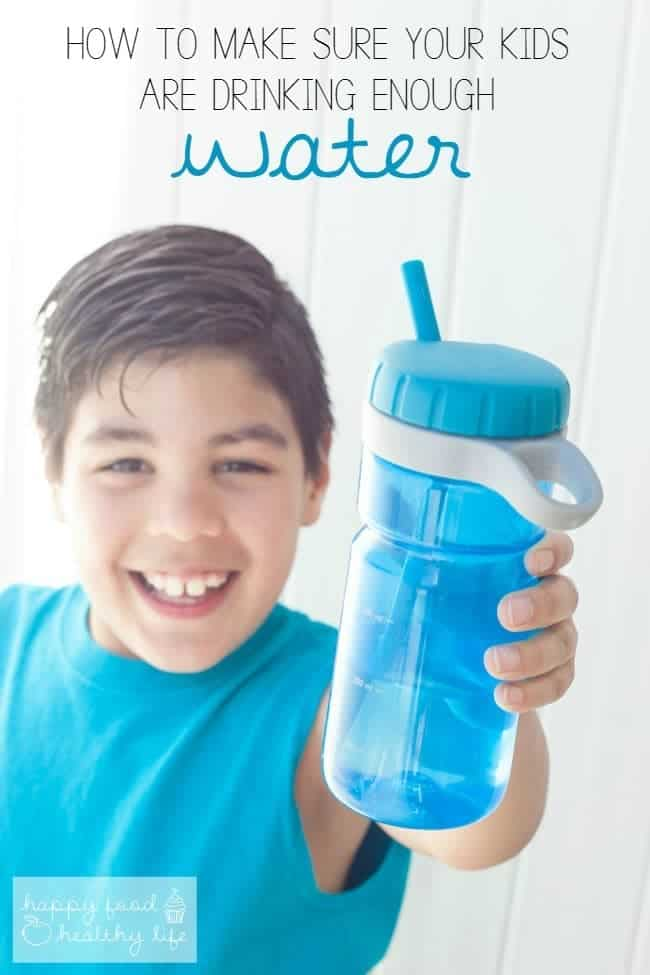 Make sure your Kids are drinking enough water this summer! | Happy Food Healthy Life