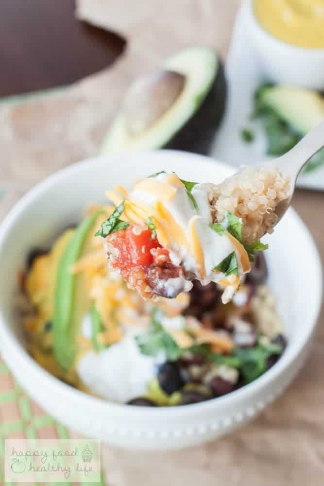 The Whole Bowl - A protein-packed bowl full of fresh deliciousness | Happy Food Healthy Life