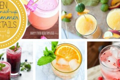 10 Lightened Up Summery Cocktails