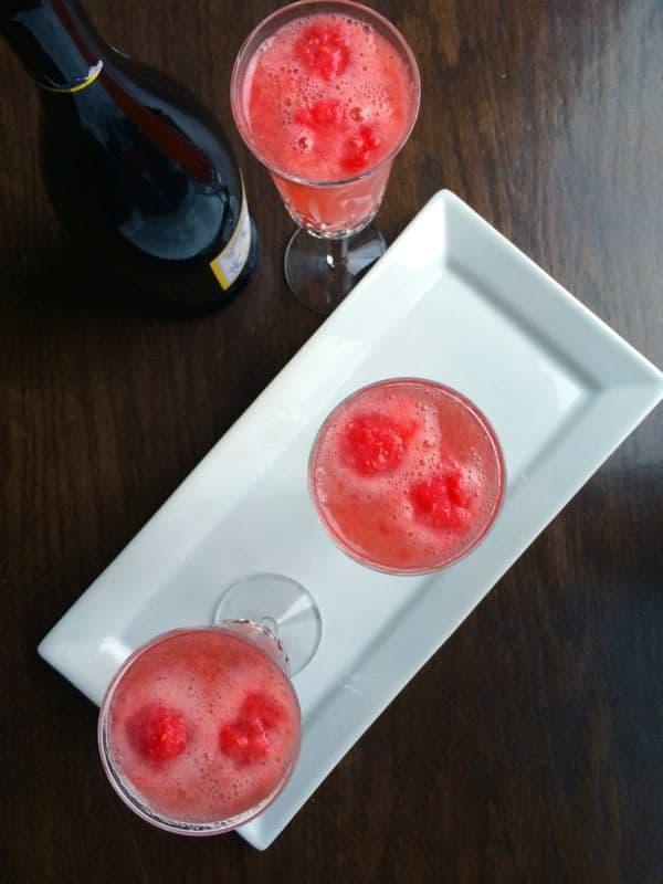 Raspberry-Ginger-Bellini-The-Lemon-Bowl