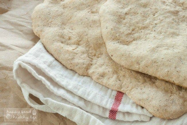 Whole Wheat Flatbread that you can use to make a pizza, to dip into soup, to top with hummus and veggies. the possibilities are endless!   Happy Food Healthy Life