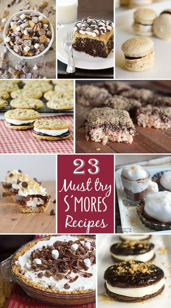 23 Must-Try S'mores Recipes - A classic summer favorite revamped into tons of delicious and creative treats   Happy Food Healthy Life