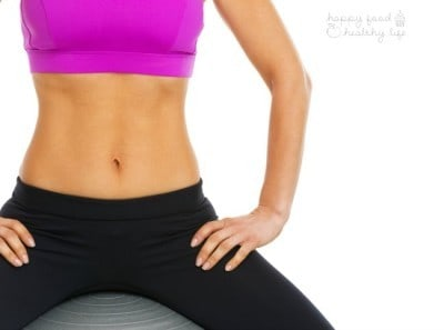 Get a Killer Ab Workout for FREE in just 10 minutes in the comfort of your home. There's nothing better than at-home workouts to get your fitness on. | Happy Food Healthy Life