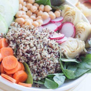 Cleansing Tri-Color Quinoa Salad