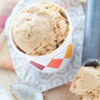 Dairy-Free Pumpkin Pie Ice Cream
