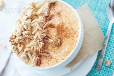 Pumpkin Cinnamon Crunch Smoothie Bowl