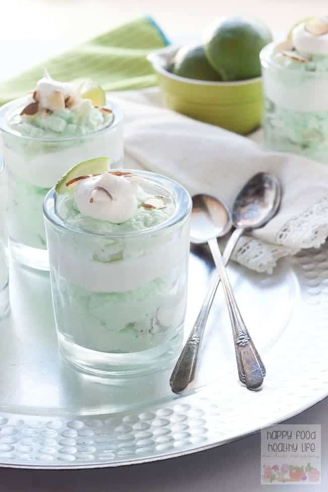 Creamy Lime Jello Parfait - These parfaits are the result of a family favorite dessert that has been turned into a modern dessert that's delicious and fresh after any meal.