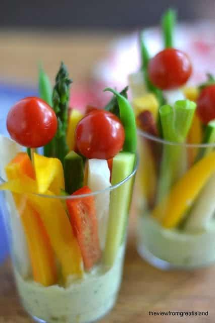 Green-Goddess-Veggie-Dip-Cups