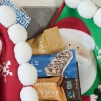 Stockings don't have to be full of candy and other junk - find out what healthy items I'll be using for stocking stuffers