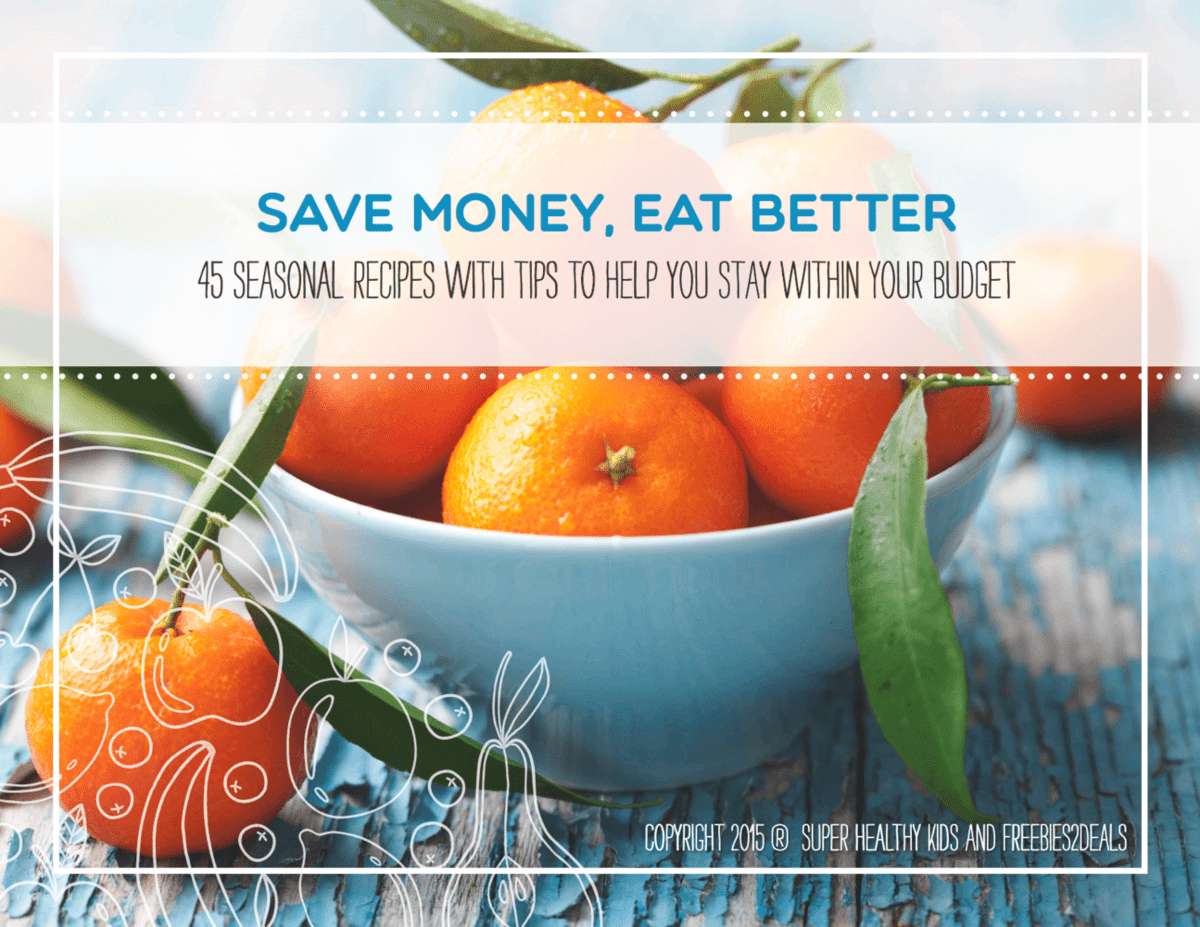 Save Money, Eat Better Cookbook