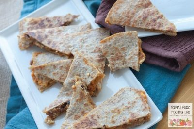 Savory Pumpkin Quesadillas