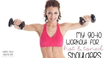 Check out my Go-To Workout for Hot & Toned SHOULDERS! Quick and Easy Workout