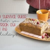 Holiday Survival Guide to help you Not Freak Out Around All the Food! The holidays can be stressful for those of us trying to stay healthy. This little guide will get you through it all!