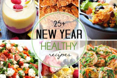 25 Healthy Recipes that will Kick Your New Year's Resolutions into High Gear