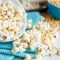 Lightened Up Buffalo Popcorn Recipe