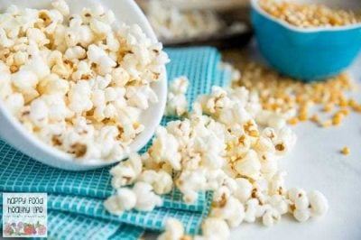 Lightened Up Buffalo Popcorn Recipe