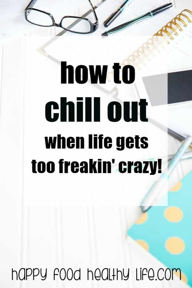 Feel like your head is going to explode if you have to take one more thing on? Feel like your plate keeps getting more and more full. If you want to learn how to take a chill pill and start feeling normal in your crazy busy life, you have got to click through for some awesome tips!