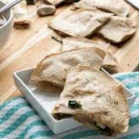 Vegetarian Spinach & Mushroom Quesadilla Recipe