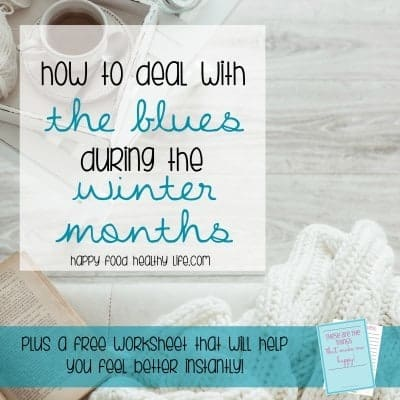 Don't let Seasonal Depression get you down during the winter months. These 6 tips will help you find your happiness and sunshine even when it's gloomy and cold outside. There's also a free worksheet that will help you learn how to deal with depression and take action toward happier days today! Click to grab that free worksheet now!