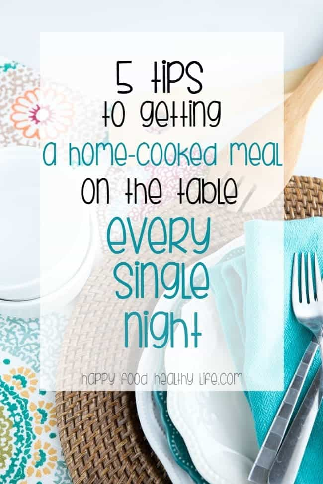 5 Sure Fire Ways to Make Sure You Get a Home-Cooked Dinner on the Table Every Night - Getting dinner made from scratch can be a total struggle for a busy lady like you, but it doesn't have to be. With these 5 KILLER tips, you are going to have dinner on the table every night for you and your family. TOTAL win! Click through to get all the tips right away!