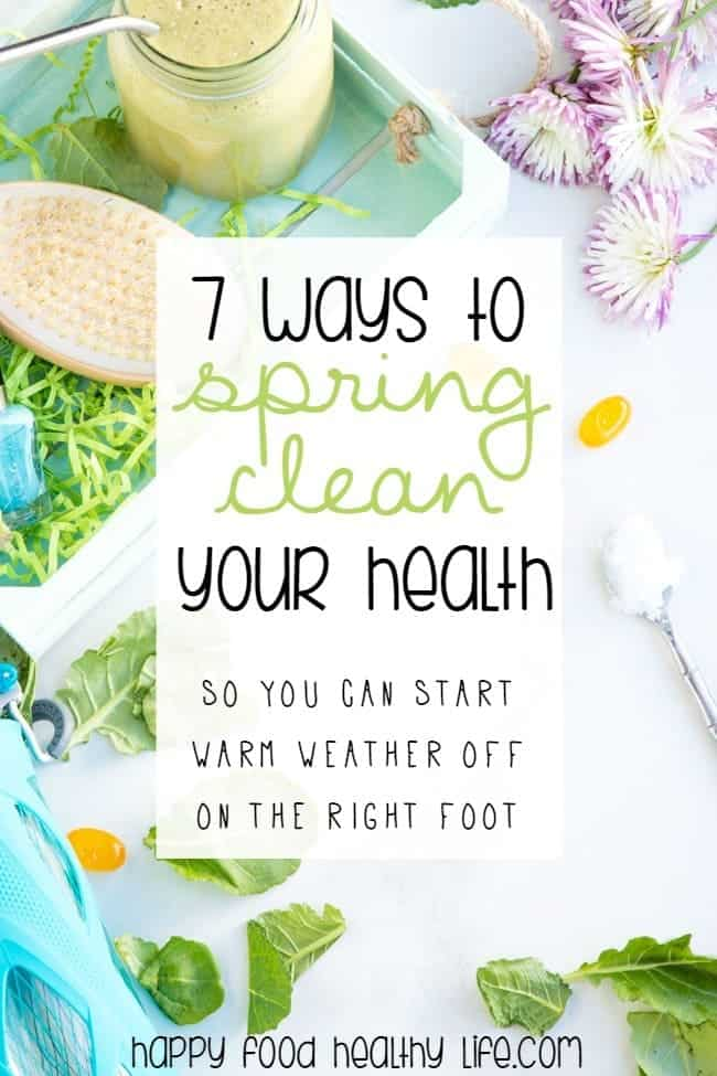So we spring clean our homes, but what about our bodies and our health? Don't you think that's just as important, if not more?? Find out how to Spring Clean Your Health so you're ready for the warm weather ahead . Click through for the best tips for spring cleaning your health.