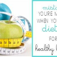 Mistakes You're Making when You Ditched Your Diet for a Healthy Lifestyle - We all know that living a healthy lifestyle is smarter than going on a diet, but there are some big mistakes you might be making when it comes to making the switch to getting healthy. Are you making these mistakes? Click through to find out!
