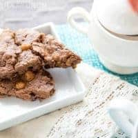 Salted Caramel Chocolate Scone Recipe + Video