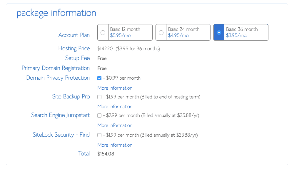 5- Package Information