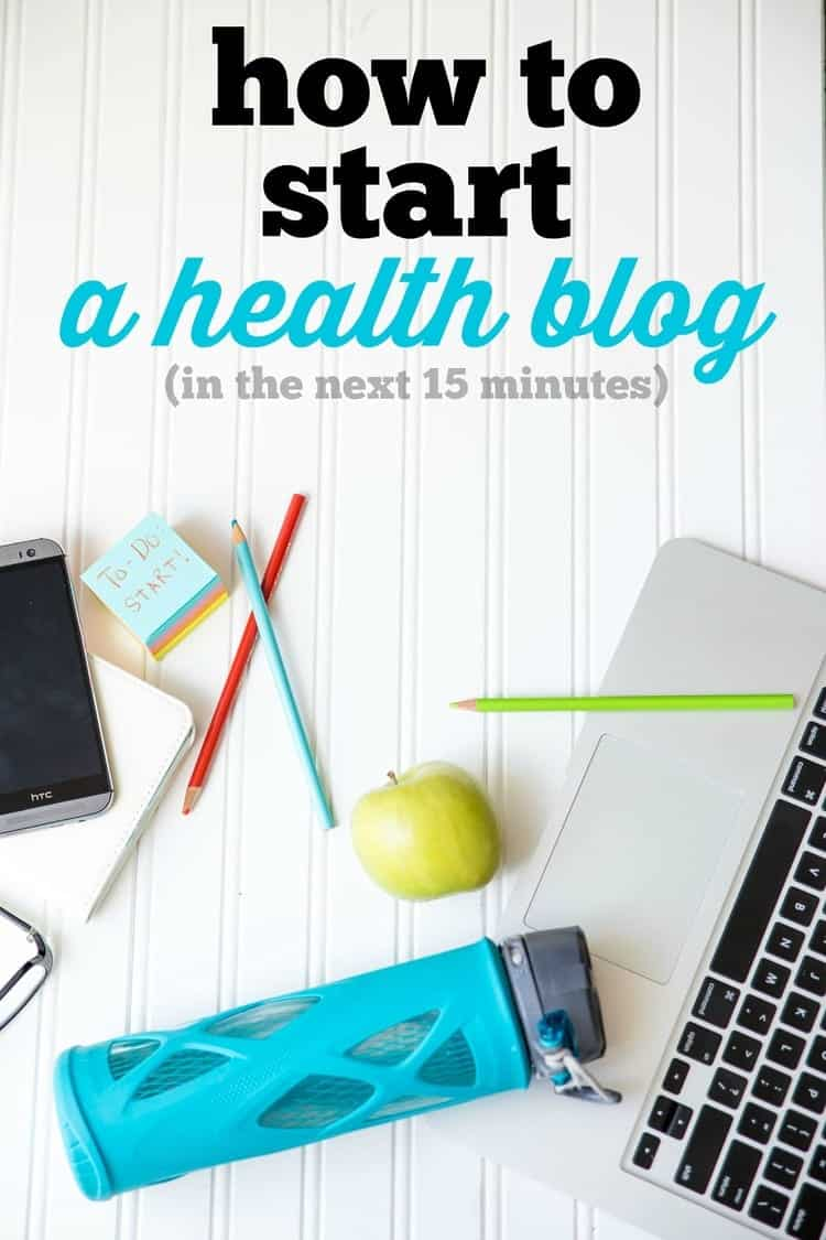 Ever wonder how to get your thoughts about health and wellness out into the world? Have a passion for getting healthy that you want to share with others? Starting a health blog may just be the right thing for you. But of course, it can be really cumbersome to even consider getting started with the tech side of things. This post will show you just how easy it can be to start a Health Blog within the next 15 minutes. So what are you waiting for?! Let's start now!