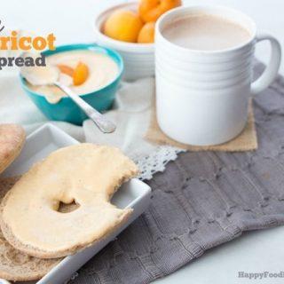 Vegan Apricot Bagel Spread