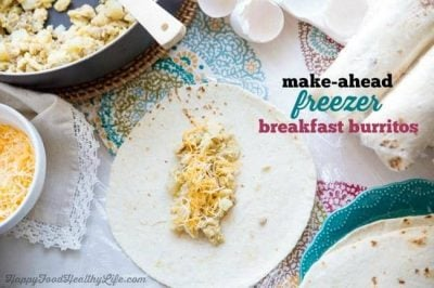 Make-Ahead Freezer Friendly Breakfast Burritos