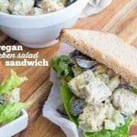 """Vegan """"Chicken"""" Salad Sandwiches"""