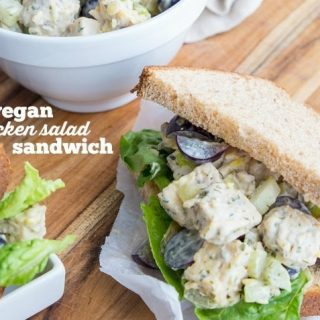 "Vegan ""Chicken"" Salad Sandwiches"