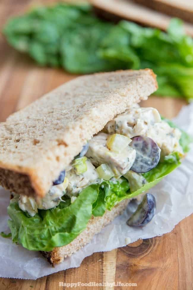 Love Chicken Salad Sandwiches but are trying to go meat-free? This Vegan option is perfec