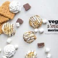 Vegan S'mores Meringues