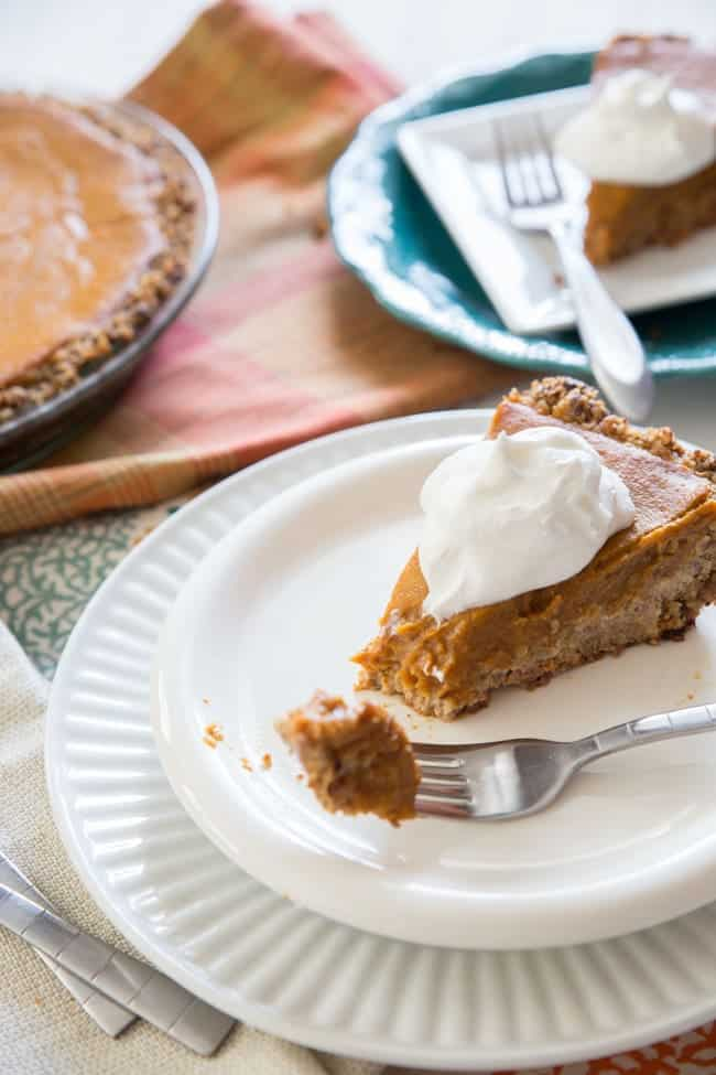 Vegan Pumpkin Pie | healthy dessert | thanksgiving | pie | pumpkin