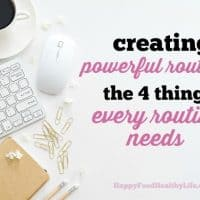 4 Things Every Routine Needs | Healthy | Working Mom | Busy | Stressed